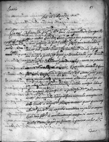 ASR, TNC, uff. 15, 1613, pt. 3, vol. 58, fol. 97r