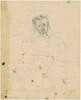 Seated Woman (Portrait of Elizabeth?) (recto)