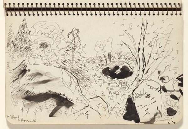 Figure in a Landscape