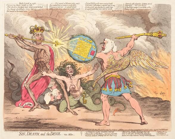 Sin, Death, and the Devil, vide Milton
