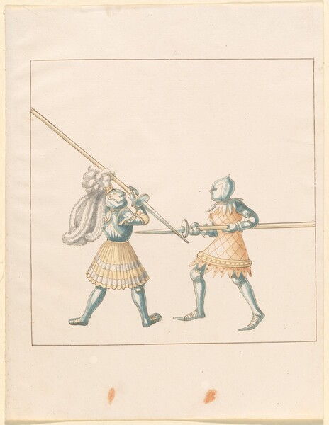 Freydal, The Book of Jousts and Tournament of Emperor Maximilian I: Combats on Foot (Jousts)(Volume III): Plate 147