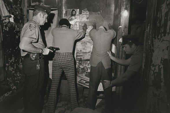 Suspects checked for weapons, New York City