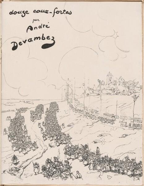 Douze eaux-fortes [La Guerre 1914-18] (Twelve Etchings [World War I])