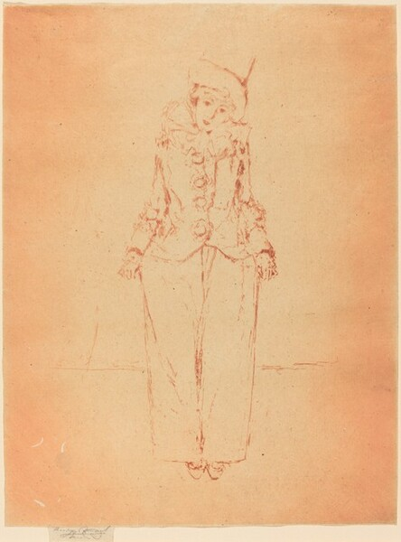 Pierrot - Portrait of Lady C.