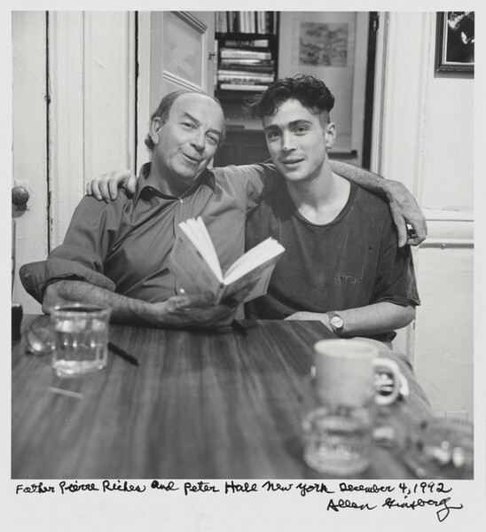 Father Pierre Riches and Peter Hale New York December 4, 1992
