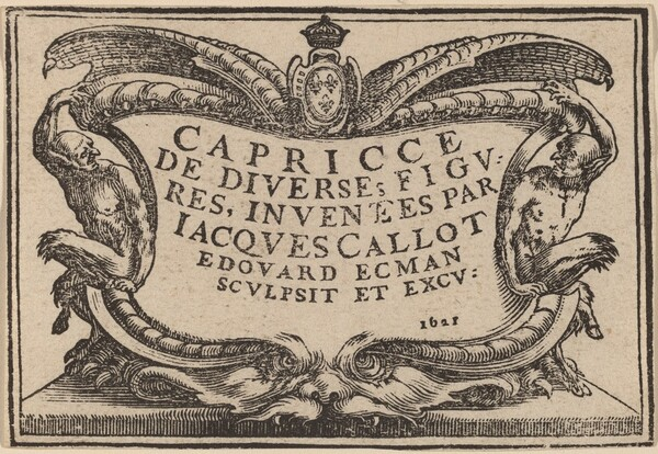 Title Page for The Capricci