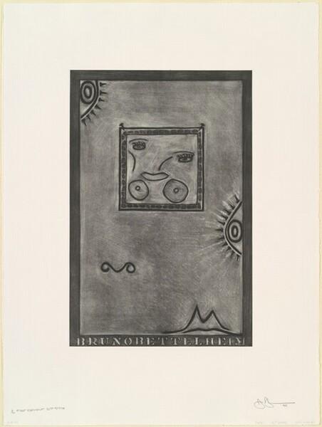 Untitled (White Mezzotint) [1st element 2nd state 1/2]