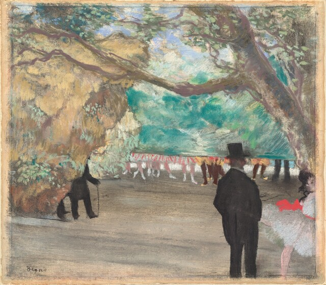 <p>Edgar Degas, The Curtain, c. 1880