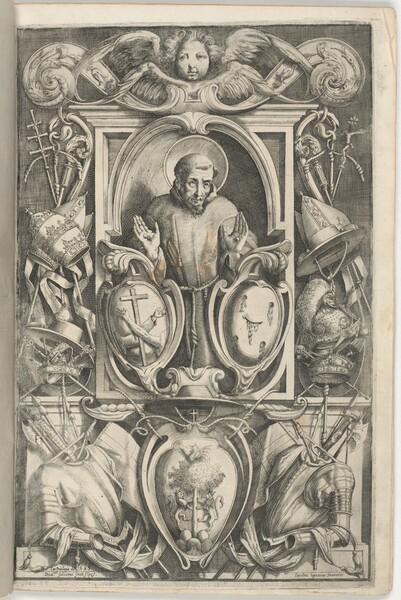 Frontispiece with Portrait of Saint Francis