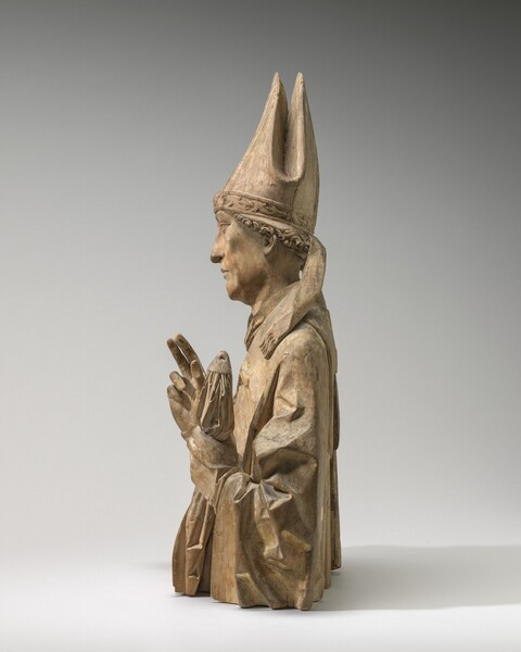 A Bishop Saint (Burchard of Würzburg?)