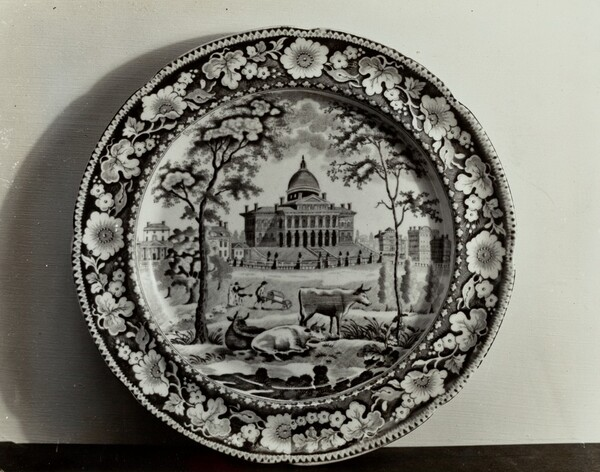 Plate - Boston State House