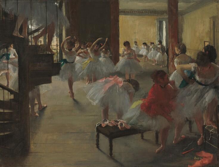 <p>Edgar Degas, The Dance Class, c. 1873