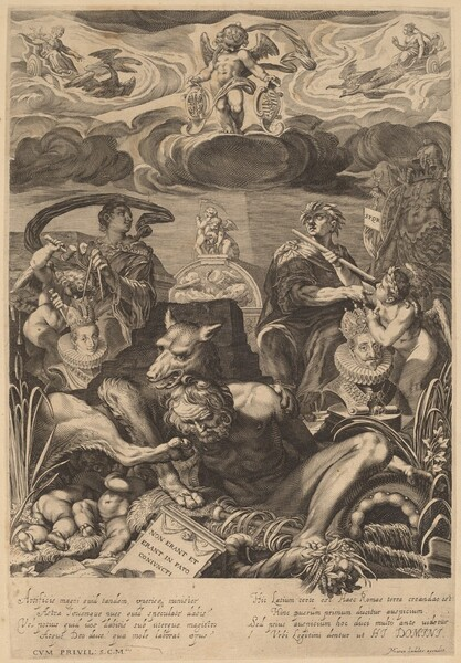 Allegory of the Marriage of Emperor Ferdinand II and Eleanor Gonzaga