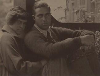 image: Kitty Stieglitz and Edward Stieglitz
