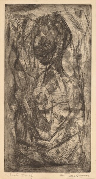 Untitled (Abstraction of a Nude)