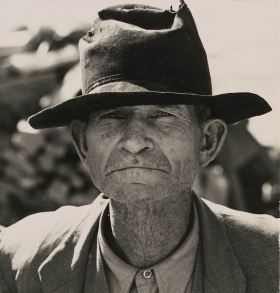 Former tenant farmer on relief grant in the Imperial Valley, California