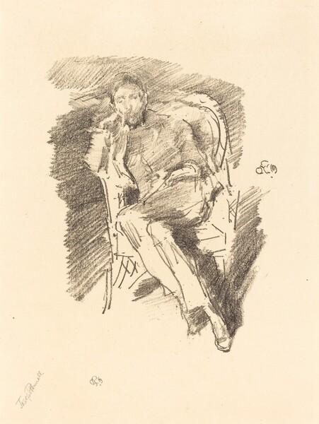 Firelight: Joseph Pennell, No. 2