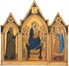 Madonna and Child Enthroned with Saints and Angels, and Saints Anthony Abbot and Venantius [entire triptych]