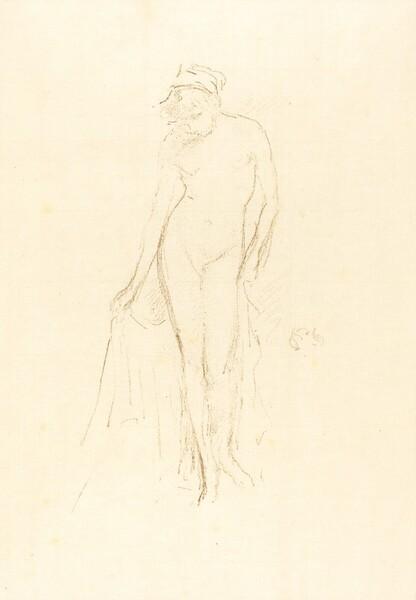 Nude Model, Standing