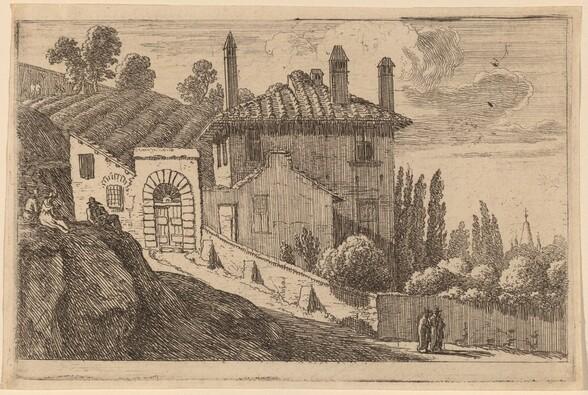 View of an Italian Villa