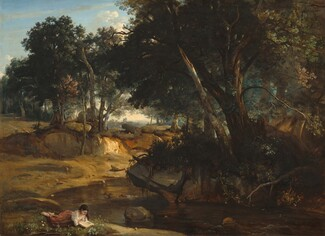 Jean-Baptiste-Camille Corot, Forest of Fontainebleau, 1834