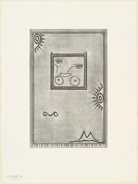 Untitled (White Mezzotint) [1st element 6th and final state]