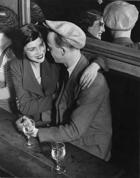 Couple at the Four Seasons Ball, Rue de Lappe, Paris