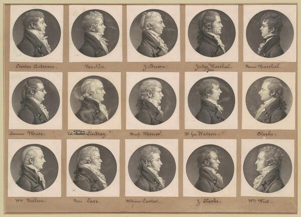 Saint-Mémin Collection of Portraits, Group 40