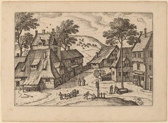 Village Square with Shrine