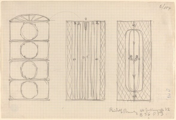 Two Designs for Ornamental Screens (and a Window Design?)