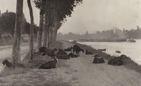 On the Seine—Near Paris