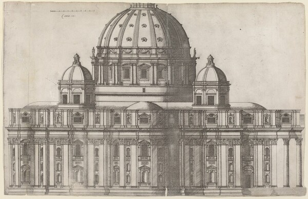 Longitudinal View of Saint Peter