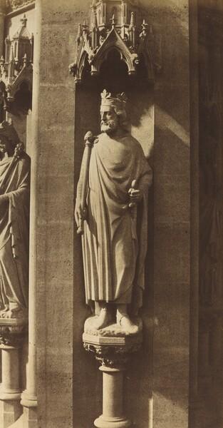Statue of Clovis, Church of Sainte-Clotilde, Paris