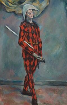 Paul Cézanne, Harlequin, 1888-1890