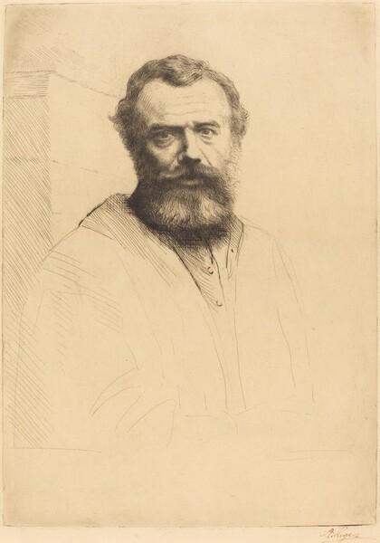 Self-Portrait, 3rd plate