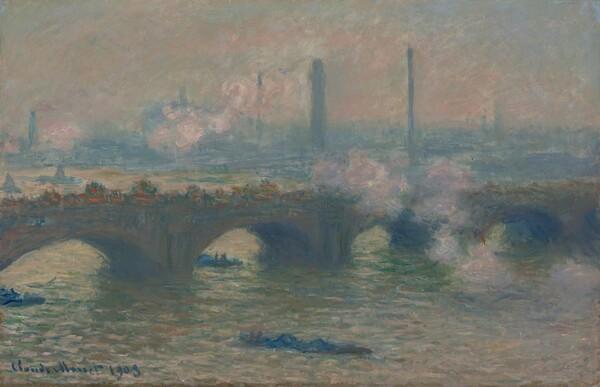 Waterloo Bridge, Gray Day