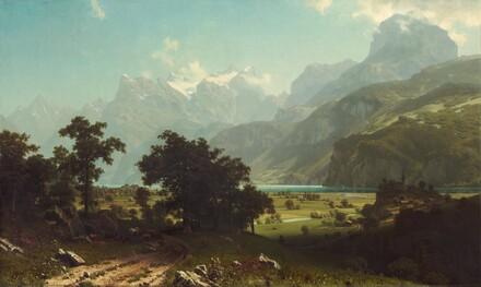 Albert Bierstadt, Lake Lucerne, 18581858