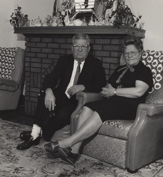 Retiree with his Wife, Atlas Steel Casting (Working People series)