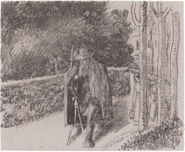 Beggar with a Crutch (Mendiant a la bequille)