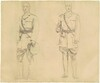 Studies of Generals Plumer and Haig for