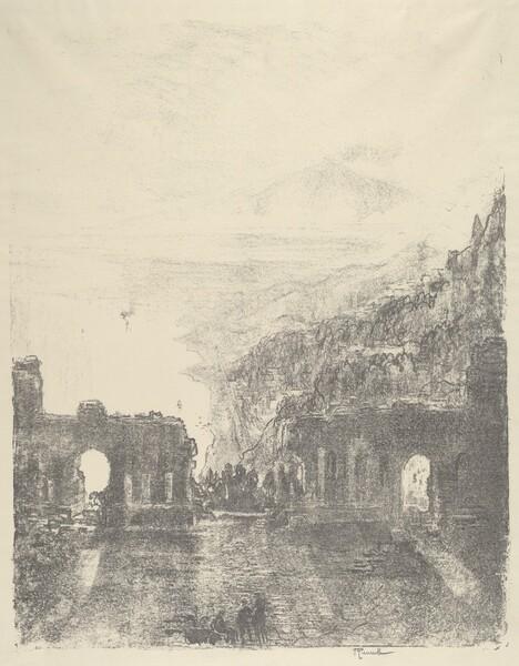 Aetna Over Taormina