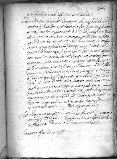ASR, TNC, uff. 15, 1633, pt. 3, vol. 137, fol. 543r