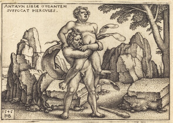 Hercules Killing Anthaeus