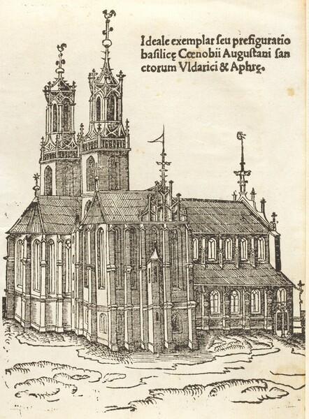 Gloriosorum christi confessorum Uldarici & Symperti
