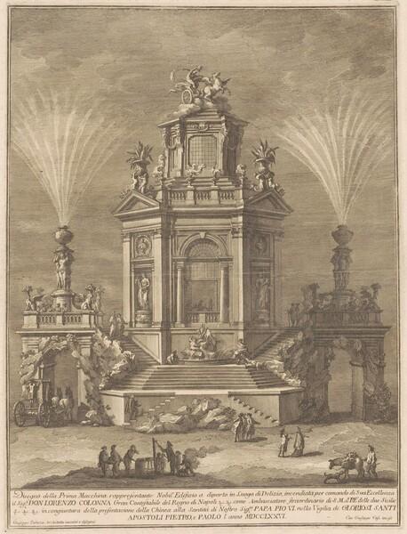 The Prima Macchina for the Chinea of 1776: A Pleasure Palace