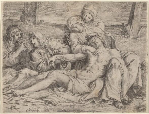 Pietà (the Christ of Caprarola)