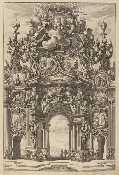 Triumphal Arch for Henry II