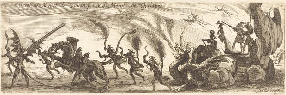 Entry of M. de Couvonge and M. de Chalabre [extra plate]