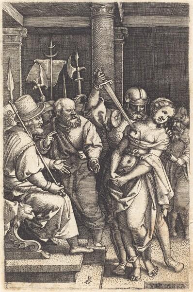 Virginius Killing His Daughter
