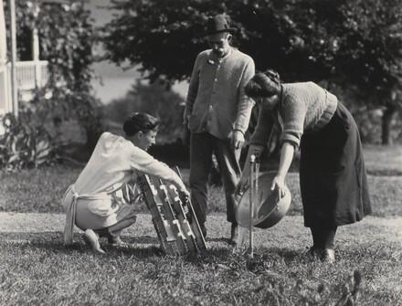 Georgia O'Keeffe, Elizabeth Davidson, and Fred Varnum